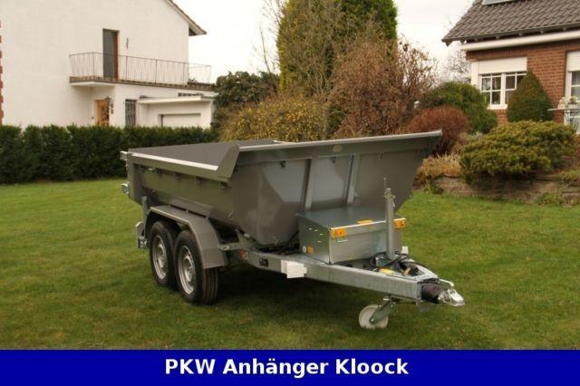 Außergewöhnlich Weber Stahl Muldy Cargo 3500kg Muldenkipper m. elektrischer Pumpe @EU_69