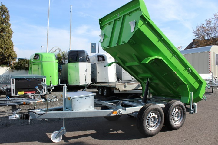 Beliebt Bevorzugt Weber Stahl Muldy Cargo 3500kg Muldenkipper m. elektrischer Pumpe @BR_86